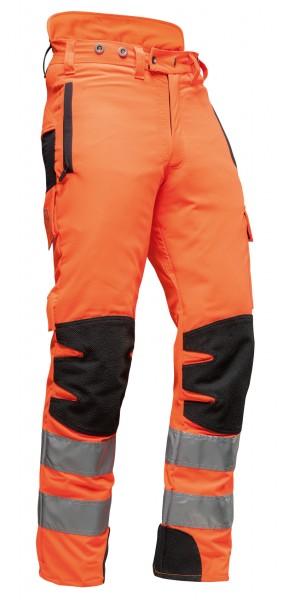 AX-MEN EN20471 Schnittschutzhose, orange