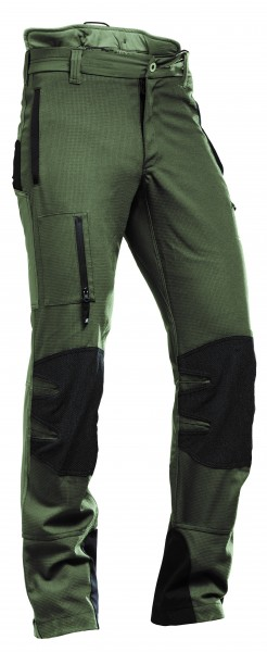 AX-MEN Ripstop Outdoorhose, grün