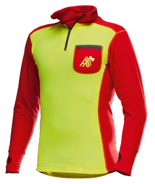 AX-MEN Funktionsshirt ISO gelb/rot