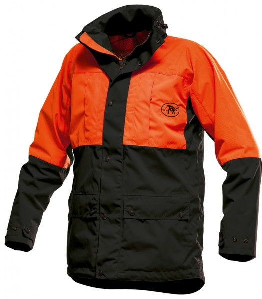 Torc Forst Parka, orange/schwarz