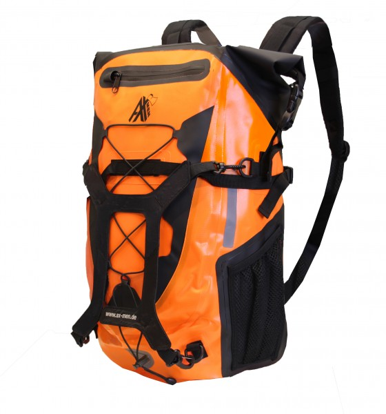 AX-MEN Rucksack orange/schwarz