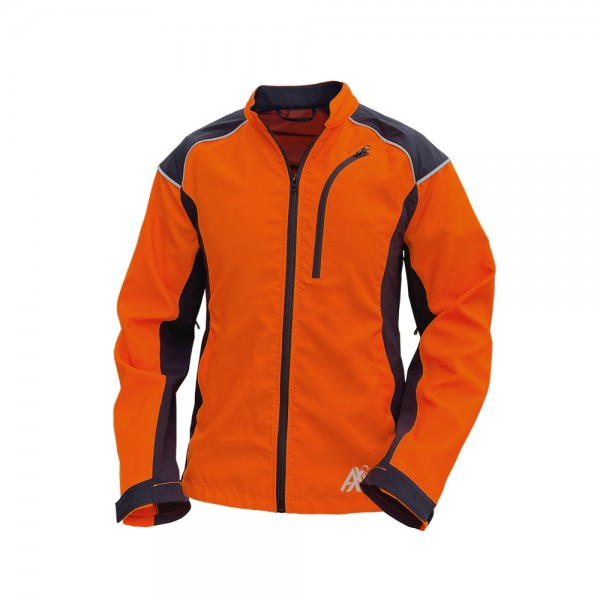 AX-MEN Forstjacke Innovation AIR, grau/orange