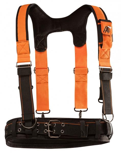 AX-MEN Ergo Tragesystem, orange/schwarz