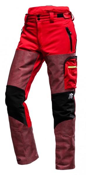 AX-MEN Defender PRO Schnittschutzhose rot