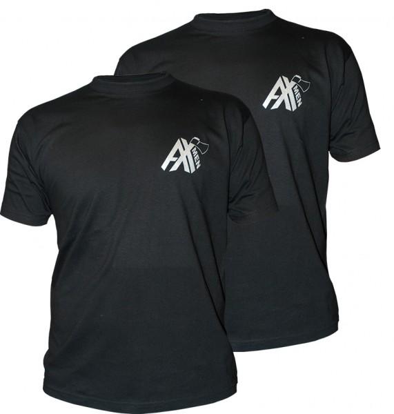 AX-MEN T-Shirt 2er Pack schwarz
